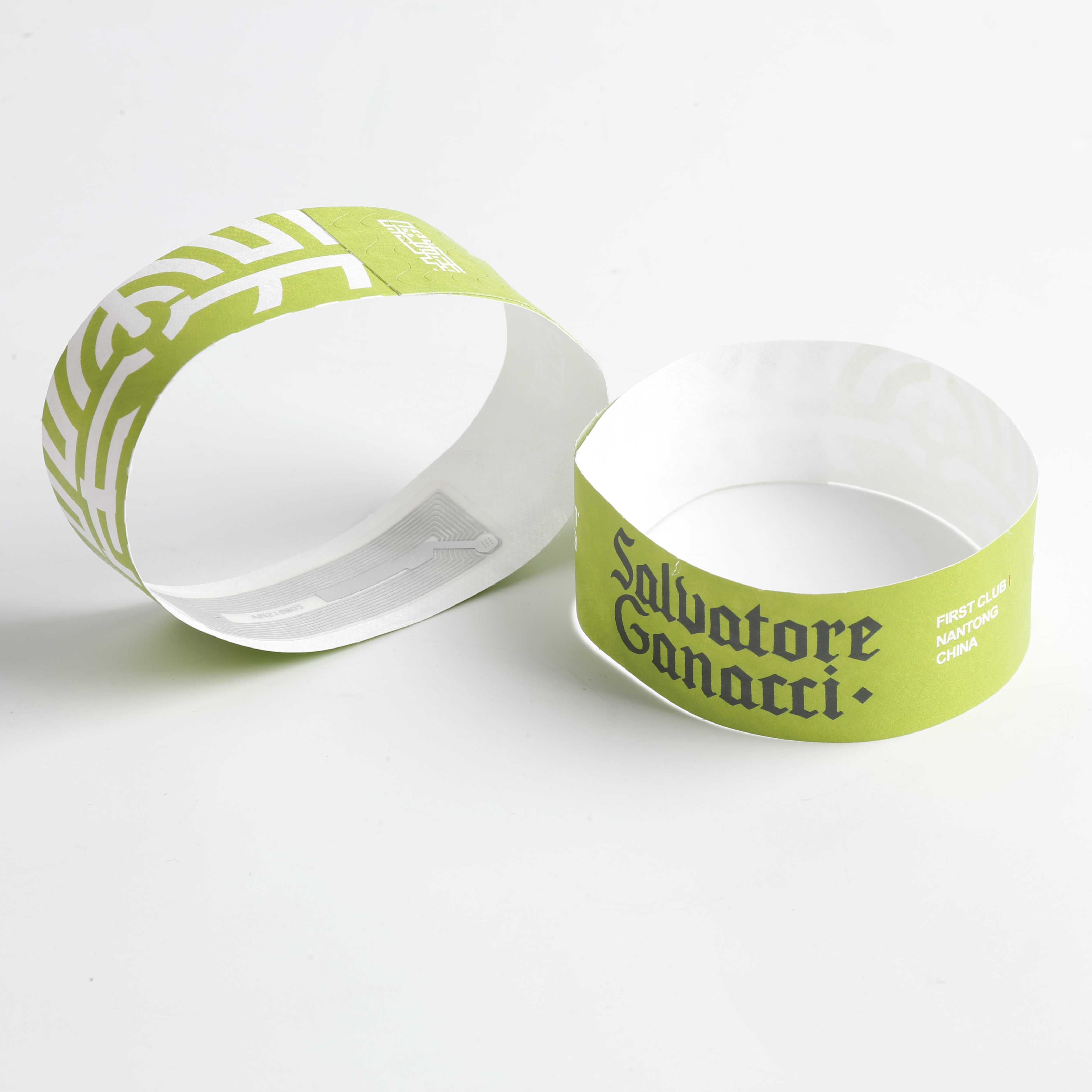 disposable party paper wristbands