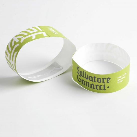 Design Tyevk Paper Wristbands with Chip